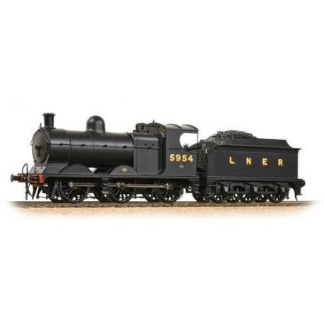 ** Bachmann 31-318A Robinson Class J11 (GCR 9J) 5954 LNER Plain Black