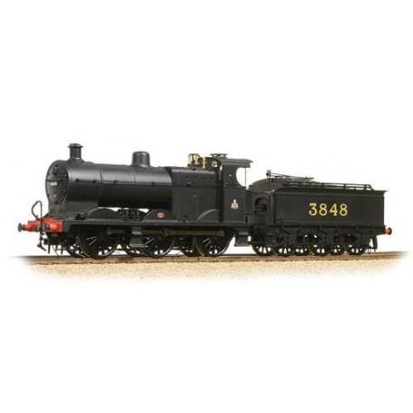** Bachmann 31-883 Midland Class 4F 3848 Midland Black Crest on Cab Johnson Deeley Tender