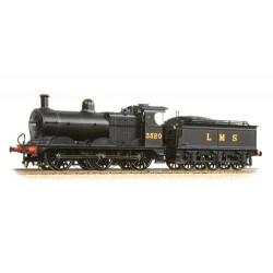 ** Bachmann 31-627B Class 3F 3520 LMS Black Deeley Tender
