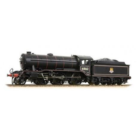 ** Bachmann 32-281 K3 Class 61862 BR Lined Black Early Emblem