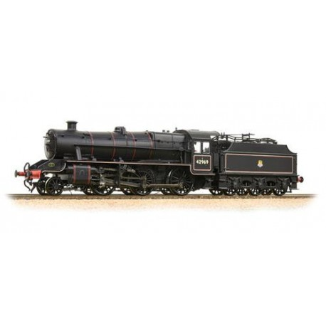 ** Bachmann 31-691 LMS Stanier Mogul 42969 BR Lined Black Early Emblem