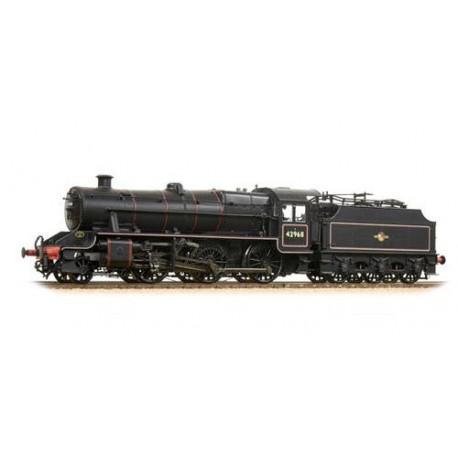 ** Bachmann 31-692 LMS Stanier Mogul 42968 BR Lined Black L/Crest (Preserved)