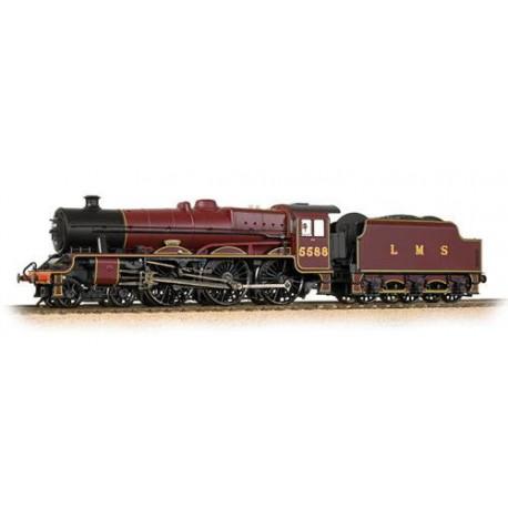 ** Bachmann 31-187DS Jubilee 5588 'Kashmir' LMS Crimson (Welded Stanier tender) - DCC Sound