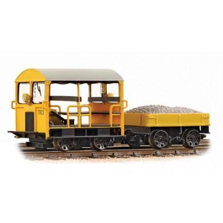 ** Bachmann 32-992 Wickham Type 27 Trolley Car BR Engineers Yellow
