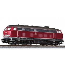 ** Liliput L132033 Diesel Locomotive BR 219 Red DB Ep.IV AC Digital