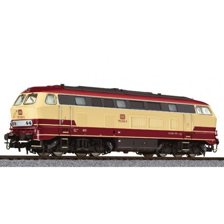 ** Liliput L132039 Diesel Locomotive BR 753 Beige/Red DB Ep.IV AC Digital