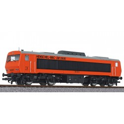 ** Liliput L132056 Diesel Locomotive DE2500 202 003-0 DB Ep.IV AC digital