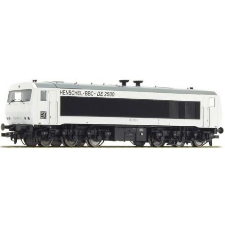 ** Liliput L132050 Diesel loco, DE2500, 202 003-0, 6-axle, DB, white, Ep.IV