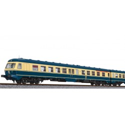 ** Liliput L133155 3 Car DMU BR 614 DB Sea blue / Beige, AC Digital