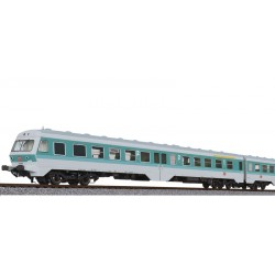 ** Liliput L133157 3 Car DMU BR 614 DB Turquoise / Gray, AC Digital