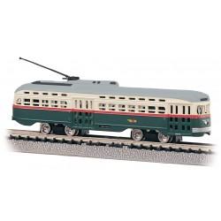 ** Bachmann 62995 PCC Streetcar PTC® Green & Cream