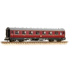 ** Grahan Farish 374-840B x 2 Stanier Vestibule Third LMS Crimson Lake