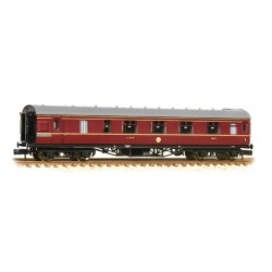 ** Graham Farish 374-830C x 2 Stanier Brake First LMS Crimson Lake