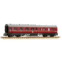 ** Grahan Farish 374-825B x 2 Stanier Brake Third LMS Crimson Lake