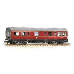 ** Graham Farish 374-875 x 2 LMS 50ft Inspection Saloon LMS Lined Crimson Lake