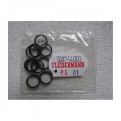 ** Fleischmann 544003 Spare Part Traction Tyres - Pack of 10