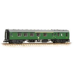 ** Graham Farish 374-083A x 2 BR Mk1 BCK Brake Corridor Composite (SR) Green