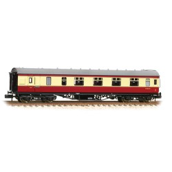 ** Graham Farish 374-831C x 2 Stanier Brake First BR Crimson & Cream