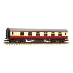 ** Graham Farish 374-846C x 2 Stanier First Corridor BR Crimson & Cream