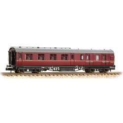 ** Graham Farish 374-827B x 2 Stanier Brake Second BR Maroon