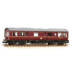 ** Graham Farish 374-876 x 2 LMS 50ft Inspection Saloon BR Maroon