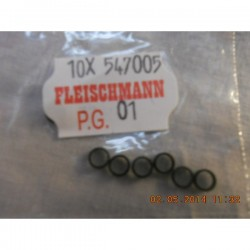 ** Fleischmann 547005 Spare Part Traction Tyres - Pack of 10