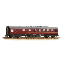 ** Grahan Farish 374-121A x 2 BR Mk1 RU Restaurant Car Maroon