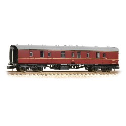 ** Graham Farish 374-036B x 2 BR Mk1 BG Full Brake Maroon