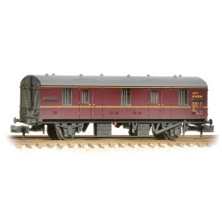 ** Graham Farish 374-641 x 2 BR MK 1 CCT BR Lined Maroon Weathered