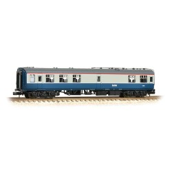 ** Graham Farish 374-110A x 2 BR Mk1 RMB Mini Buffet Car Blue & Grey