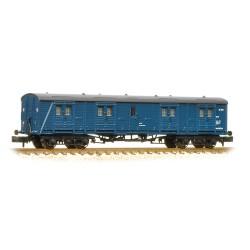 ** Graham Farish 374-632 x 2 SR 50' Bogie B Luggage Van BR Blue