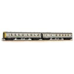 ** Graham Farish 374-992 x 2 Mk1 Coach Pack Hunslet-Barclay Weed Killing Train