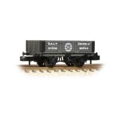** Graham Farish 377-059 x 2 5 Plank Wagon Wooden Floor 'Salt Union'