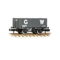 ** Graham Farish 377-088 x 2 7 Plank Wagon End Door GWR Grey