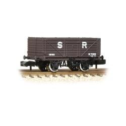 ** Graham Farish 377-089 x 2 7 Plank Wagon End Door SR Brown