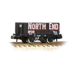** Graham Farish 377-091 x 2 7 Plank Wagon End Door Wagon 'North End'