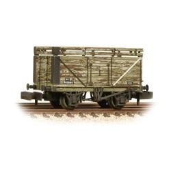 "** Graham Farish 377-207 x 2 8 Plank Wagon with Coke Rails BR (Refurbished with ""P"" No)"