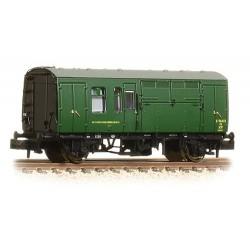 ** Graham Fsrish 373-362A x 2 BR Mk1 Horse Box BR (SR) Green