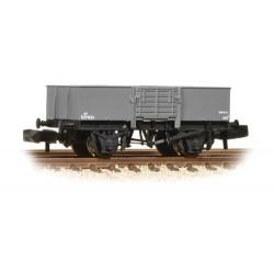** Graham Farish 377-957 x 2 13 Ton H/Sided Steel Wagon (Smooth Sides) Wooden Door BR Grey