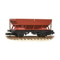 * Graham Farish 373-502C x 2 46 Tonne glw HSA Hopper Wagon BR Bauxite