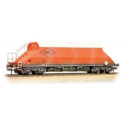 ** Graham Farish 377-100B x 2 90 Tonne glw JGA Bogie Hopper 'RMC' Weathered
