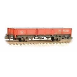 ** Graham Farish 377-551B x 2 31 Tonne glw OCA Dropside Open Wagon BR Railfreight Red Weathered
