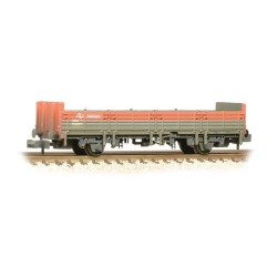 ** Graham Farish 373-626D x 2 31 Ton OBA Open Wagon 'Railfreight' Red & Grey Weathered