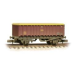 ** Graham Farish 373-575F x 2 46 Tonne glw MEA Open Mineral Wagon EWS Weathered