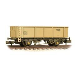 ** Graham Farish 373-975B x 2 46T POA Mineral Wagon 'Tiger' Grey Weathered