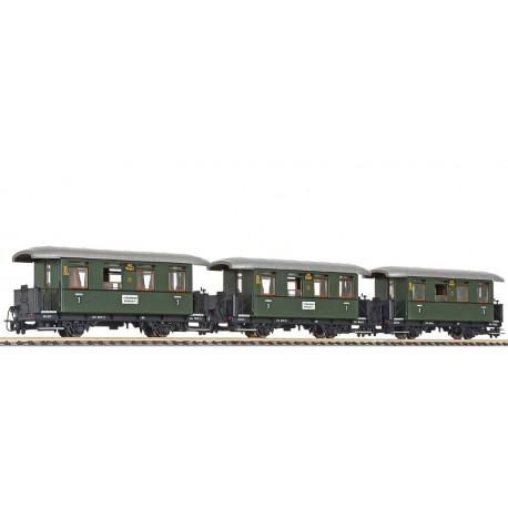 """Liliput 340500 x 1 3-unit set coaches """"ochslebahn"""""""