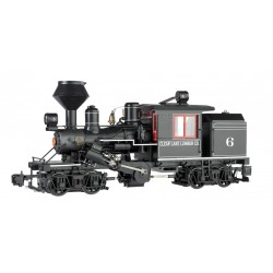 ** Bachmann 85093 x 1 Two-Truck Climax Clear Lake Lumber Co. 6