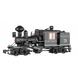 ** Bachmann 85096 x 1 Two-Truck Climax Bayside Lumber Co. 3