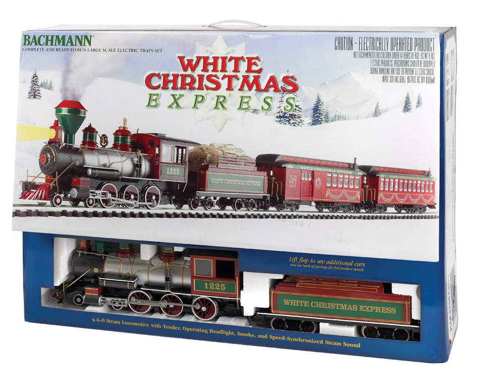 ** Bachmann 90076 x 1 White Christmas® Express Train Set - MDR Direct Online