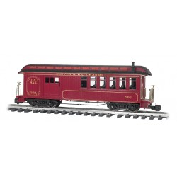 ** Bachmann 97106 x 1 Jackson Sharp Passenger Combine D&RG™ 202 US Mail (Lighted)